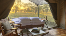 Star gazing tent at Olakira Migration Camp Serengeti, Tanzania