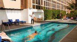 Pool at Arabian Courtyard Hotel & Spa in Dubai