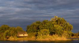 Exterior viw at Tongabezi Lodge, Victoria Falls, Zambia