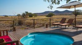 Desert Rhino Camp in Damaraland
