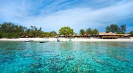 Strand und Meer Gili Meno Indonesien