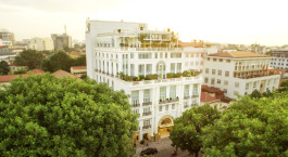 Außenansicht im the Apricot Hotel, Hanoi, Vietnam