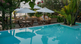 Pool im Mealea Resort in Kep, Kambodscha
