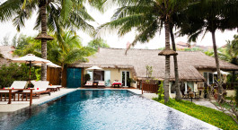 Pool at Victoria Phan Thiet Beach Resort & Spa Hotel in Mui Ne, Vietnam