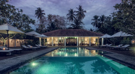Pool im Taru Villas – Lighthouse Street Hotel in Galle Fort, Sri Lanka