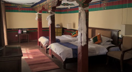 Enchanting Travels Tibet Tours Lhasa Hotels Yabshi Phunkhang room