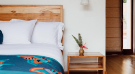 Schlafzimmer im The Retreat Hotel in Kigali, Ruanda