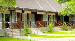 Exterior view of The Paradise Resort & Spa Hotel in Sigiriya, Sri Lanka
