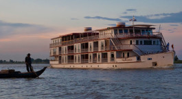 Außenansicht der The Jahan Cruise, My Tho/Mekong Delta, Vietnam