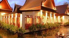 Außenansicht im Sukhothai Hotel in Bangkok, Thailand