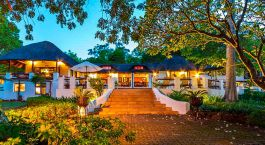 Exterior view at hotel Rissington Inn in Hazyview, South Africa
