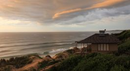 Accommodation at the beach, Blue Footprint Eco Lodge in Inhambane, Mozambique