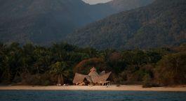 Exterior view at Camp Greystoke in Mahale, Tanzania