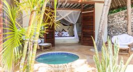 Honeymoon Suite at Sunshine Hotel in Zanzibar, Tanzania
