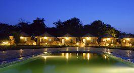 Exterior view of Infinity Resort, Rann of Kutch, India