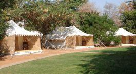 Zelte imHotel Sher Bagh, Ranthambore, Nordindien