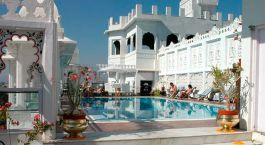 Swimming Pool Udai Kothi Hotel Udaipur India Tour