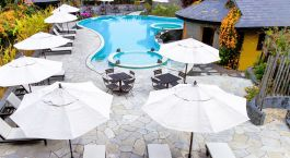 Enchanting Travels Nepal Tours Pokhara Hotels Temple Tree Resort and Spa pool