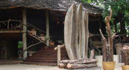 Lake Manyara Tree Lodge from outside, Lake Manyara & Ngorongoro, Tanzania
