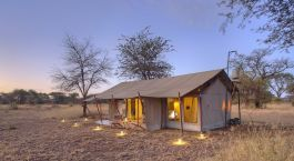 Enchanting Travels Tanzania Tours Serengeti Hotels ubuntu-camp-guest-tent-exterior