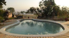Pool at Lamai Serengeti Main Camp Hotel in Serengeti (North), Tanzania
