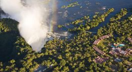 Enchanting Travels - Zambia Tours - Anantara Avani Victoria Falls Resort - view from above