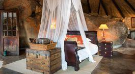 Zimmer im Hotel Camp Amalinda in Matobo Nationalpark, Simbabwe