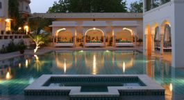 Enchanting Travels - India Tours - Jaipur - Samode Haveli - Swimming pool