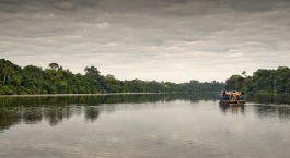 Bootfahrt im  Posada Amazonas in Puerto Maldonado, Peru