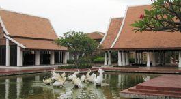 Außenansicht des Sukhothai Heritage Resort in Sukhothai