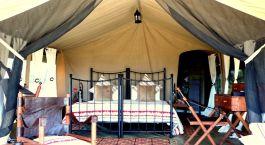 Gästezelt im Kimondo Camp – Nordserengeti Hotel, nördliches Serengeti, Tansania