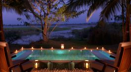 Pool, The Serai Kabini, Nagarhole, South India, Asia