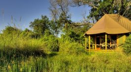 Exterior at Kanana Camp in Okavango Delta, Botswana