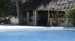 Poolside at Mchanga Beach Resort in Zanzibar, Tanzania
