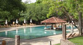 Exterior view of Amaya Lake Resort in Sigriya