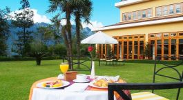 Garden of Victoria Sapa Resort in Sapa, Vietnam