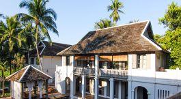 Exterior view at hotel Satri House in Luang Prabang, Laos