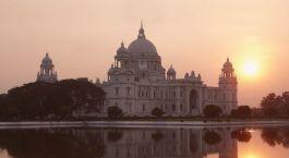 Prächtige Palastbauten prägen Kalkuttas Stadtbild
