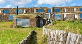 Exterior view of Altiplanico Sur in Puerto Natales, Chile