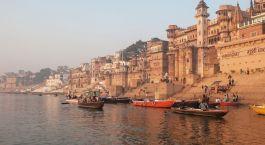 Varanasi, Ganges Fluss Ufer