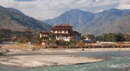 Punakha in Bhutan