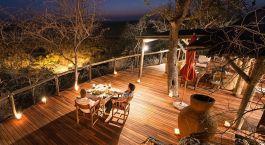 Restaurant im Little Ongava Hotel in Namibia Etosha (Anderson Gate)