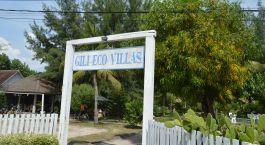 Entrance tag at Gili Eco Villas, Gili Trawangan, Indonesia