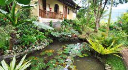 Außenansicht im Puri Lumbung Cottage, Munduk, Indonesien