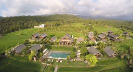 Overview of Sanak Retreat, Munduk, Indonesia