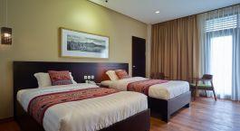 Schlafzimmer im Jiwa Jawa Resort Bromo Hotel in Indonesien, Mount Bromo