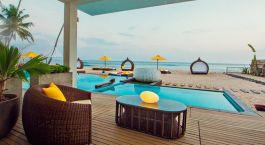 Pool im Hotel Casa Mirissa in  Mirissa/Weligama, Sri Lanka