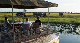 Exterior view at Chobe Game Lodge in Chobe National Park, Botswana