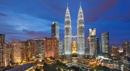 Buidlings in Kuala Lumpur, Malaysia