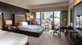 Room at hotel Hilton Kuching, Kuching, Malaysia